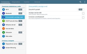 Comparte la conexión de datos con una PC - Samsung Galaxy Note Pro - Passo 6