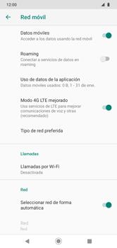 Cómo seleccionar una red en su teléfono manualmente - Motorola Moto G8 Play (Single SIM) - Passo 7