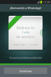 Configuración de Whatsapp - Samsung Galaxy Fame GT - S6810 - Passo 9