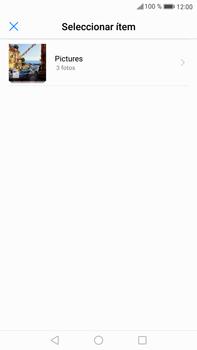 Envía fotos, videos y audio por mensaje de texto - Huawei Mate 9 - Passo 14