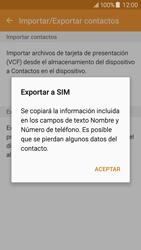 ¿Tu equipo puede copiar contactos a la SIM card? - Samsung Galaxy J5 - J500F - Passo 9