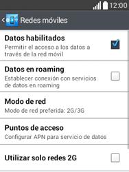Configura el Internet - LG L20 - Passo 7