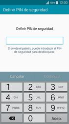 Desbloqueo del equipo por medio del patrón - Samsung Galaxy A3 - A300M - Passo 11