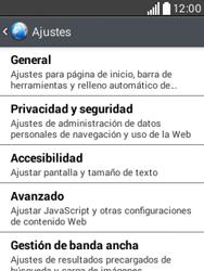 Configura el Internet - LG L20 - Passo 22