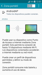 Configura el hotspot móvil - Samsung Galaxy A3 - A300M - Passo 10