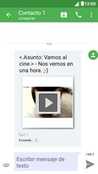 Envía fotos, videos y audio por mensaje de texto - Alcatel Pixi 4 5 - OT5045 - Passo 19