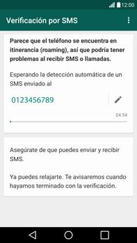 Configuración de Whatsapp - LG G4 - Passo 7