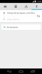 Uso de la navegación GPS - Motorola Moto G - Passo 15