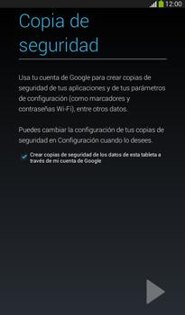 Crea una cuenta - Samsung Galaxy Tab 3 7.0 - Passo 21