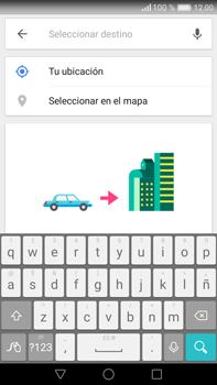 Uso de la navegación GPS - Huawei Mate 8 - Passo 13