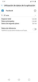 Verificar el uso de datos por apps - LG K40S - Passo 5