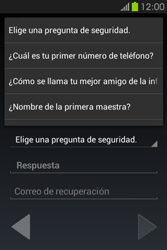 Crea una cuenta - Samsung Galaxy Fame GT - S6810 - Passo 14