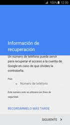 Crea una cuenta - Samsung Galaxy S6 Edge - G925 - Passo 8