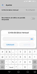 Desactivación límite de datos móviles - Huawei Y5 2018 - Passo 7