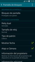 Desbloqueo del equipo por medio del patrón - Samsung Galaxy Alpha - G850 - Passo 15