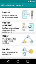 ¿Tu equipo puede copiar contactos a la SIM card? - LG K4 - Passo 6