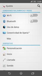 Configura el hotspot móvil - Sony Xperia E 4G - Passo 4