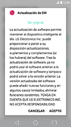 Actualiza el software del equipo - LG K10 2017 - Passo 8