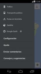 Uso de la navegación GPS - Motorola Moto E (1st Gen) (Kitkat) - Passo 7