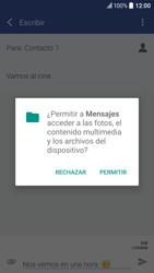 Envía fotos, videos y audio por mensaje de texto - HTC 10 - Passo 13