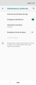 Desactivación límite de datos móviles - Motorola One Vision (Single SIM) - Passo 8