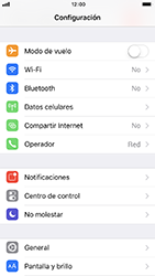 Restaura la configuración de fábrica - Apple iPhone 8 - Passo 3