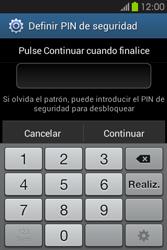 Desbloqueo del equipo por medio del patrón - Samsung Galaxy Fame GT - S6810 - Passo 13