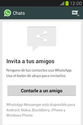 Configuración de Whatsapp - Samsung Galaxy Fame GT - S6810 - Passo 10