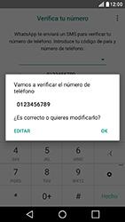 Configuración de Whatsapp - LG X Cam - Passo 9