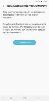Restaura la configuración de fábrica - Samsung A7 2018 - Passo 8