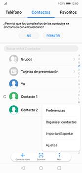 ¿Tu equipo puede copiar contactos a la SIM card? - Huawei P20 Lite - Passo 4