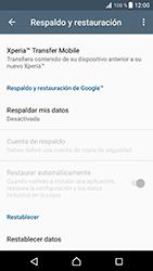 Restaura la configuración de fábrica - Sony Xperia XZ Premium - Passo 5