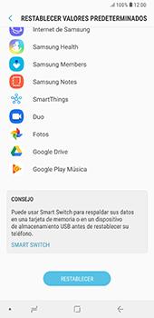 Restaura la configuración de fábrica - Samsung A7 2018 - Passo 7