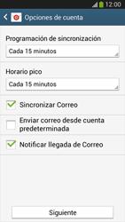 Configura tu correo electrónico - Samsung Galaxy Zoom S4 - C105 - Passo 18