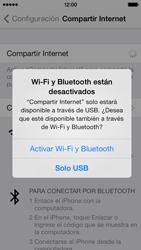 Comparte la conexión de datos con una PC - Apple iPhone 5c - Passo 6