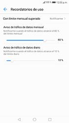 Desactivación límite de datos móviles - Huawei P9 Lite 2017 - Passo 8