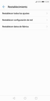 Restaura la configuración de fábrica - Huawei Y7 (2018) - Passo 5