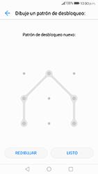 Desbloqueo del equipo por medio del patrón - Huawei P10 - Passo 8