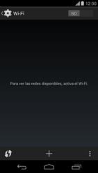 Configura el WiFi - Motorola Moto G - Passo 5