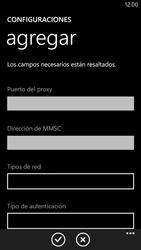 Configura el Internet - Nokia Lumia 1320 - Passo 18