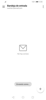 Cómo enviar un correo electrónico - Huawei P30 Lite - Passo 17