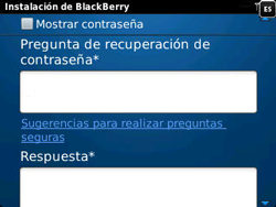 Crea una cuenta - BlackBerry Curve 9320 - Passo 8