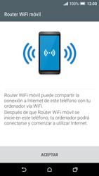 Configura el hotspot móvil - HTC One A9 - Passo 7