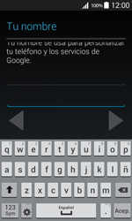 Crea una cuenta - Samsung Galaxy Core Prime - G360 - Passo 6