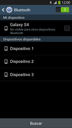 Conecta con otro dispositivo Bluetooth - Samsung Galaxy S4  GT - I9500 - Passo 6