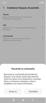 Desbloqueo del equipo por medio del patrón - Xiaomi Redmi Note 9 Pro - Passo 7