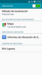 Uso de la navegación GPS - Samsung Galaxy A3 - A300M - Passo 21