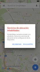 Uso de la navegación GPS - Apple iPhone 6s - Passo 7