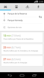 Uso de la navegación GPS - Motorola Moto G - Passo 19