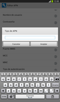Configura el Internet - Samsung Galaxy Tab 3 7.0 - Passo 14